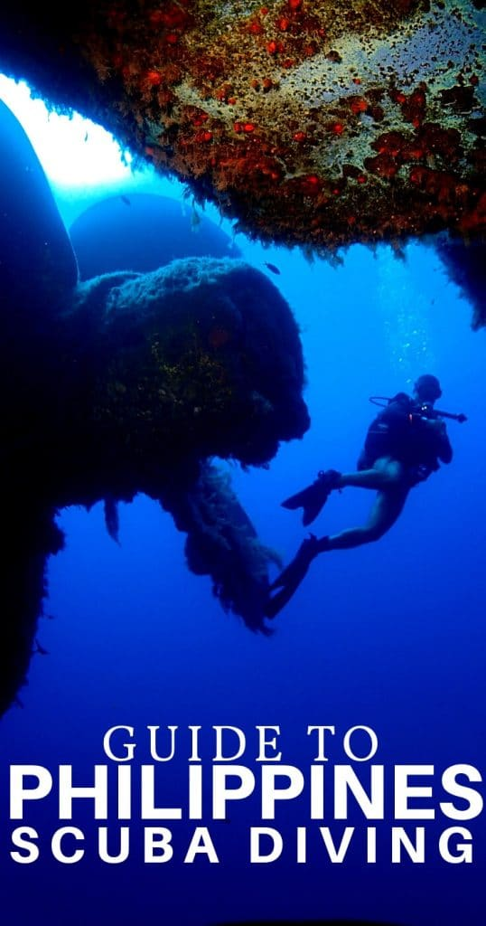 scuba diving philippines