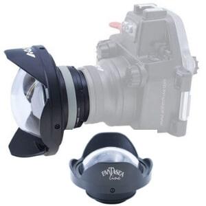 scuba wide angle lens