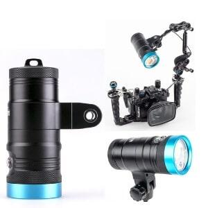 underwater video lights